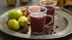 Ponche de Granada y Manzana verde
