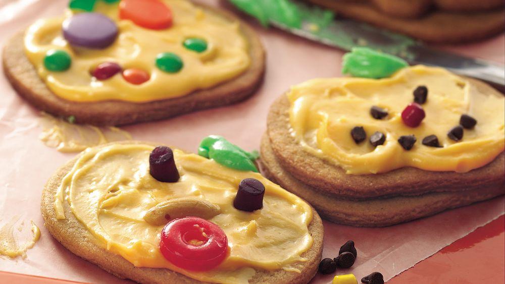 Jack-o'-Lantern Cookies recipe from Pillsbury.com