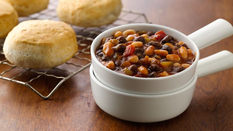Slow-Cooked Tex-Mex Baked Beans