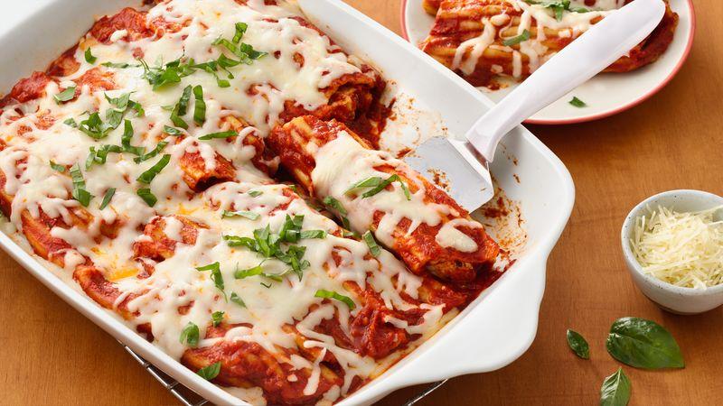 Super Easy Chicken Manicotti Recipe From Betty Crocker