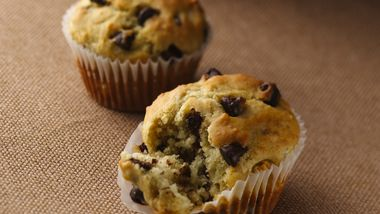 Banana-Chocolate Chip Muffins