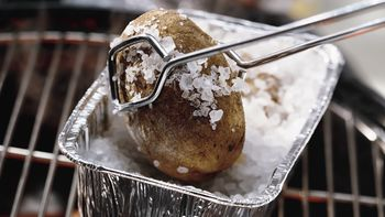 Baked Potatoes on the Grill