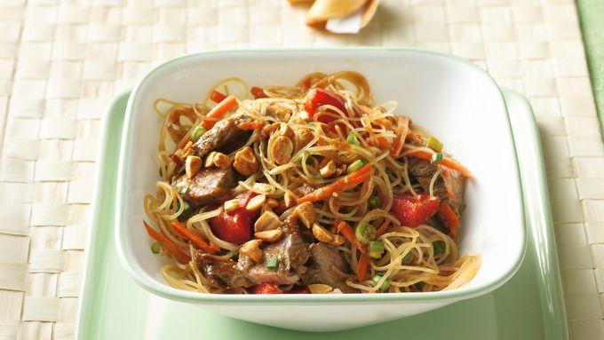 Grilled Thai Beef-Noodle Salad