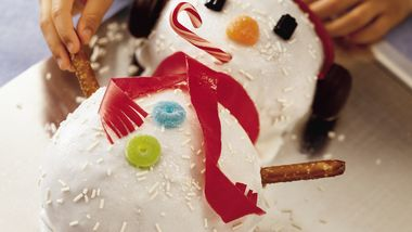 Bread Machine Frosty Snowman