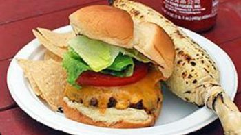 Spicy Sriracha Burger