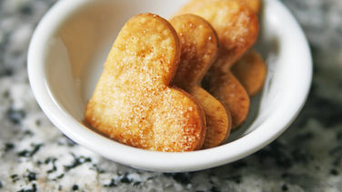 Easy Sweet-or-Savory Heart Crackers