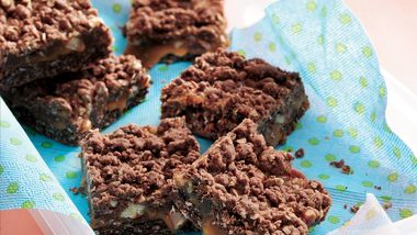 Chocolate-Caramel Bars