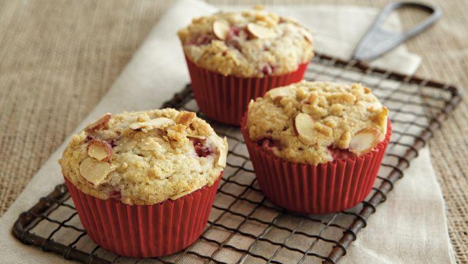 Strawberry-Buttermilk Muffins