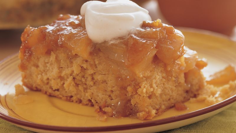 Pear-Ginger Upside-Down Cake