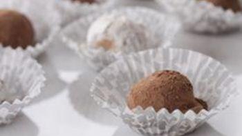 White Chocolate Rum Truffles