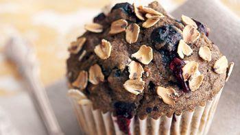 Skinny Blueberry Orange Muffins