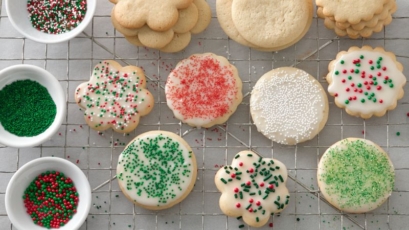 Classic Sugar Cookies (Cookie Exchange Quantity)