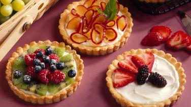 Tartas Cremosas de Fruta