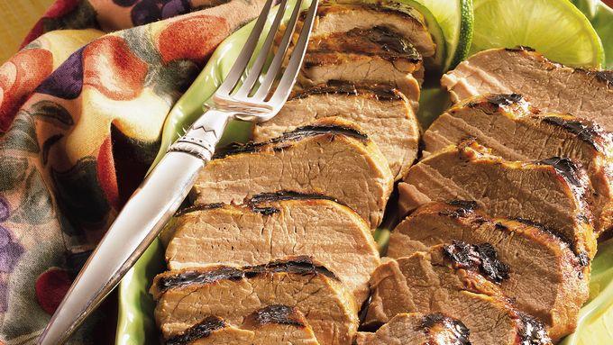 Lime-Marinated Pork Tenderloins