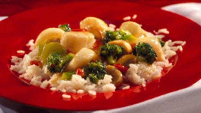 Stir-Fried Scallops with Broccoli