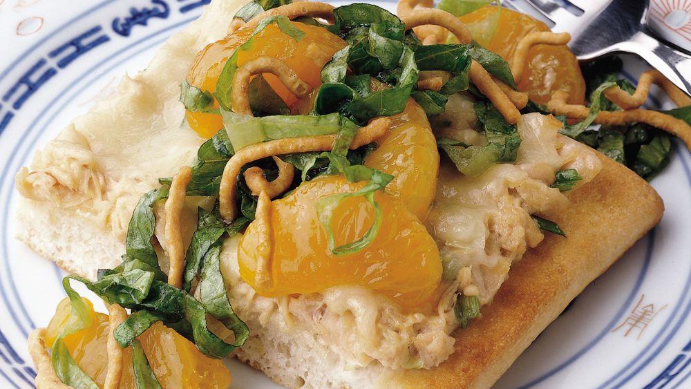 Mandarin Chicken Salad Pizza