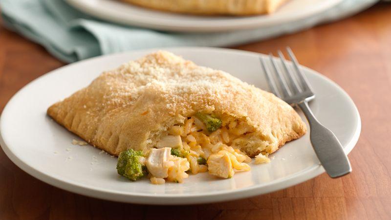 Cheesy Broccoli-Chicken Crescent Squares