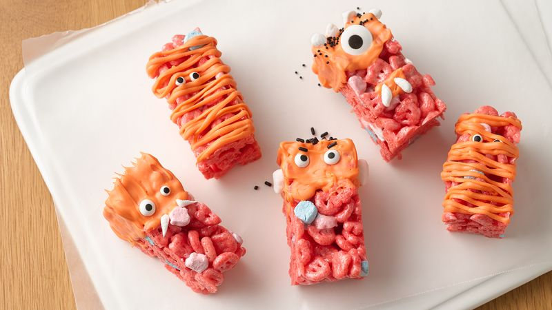 No-Bake Monster Cereal Bars