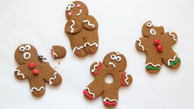 Stressed Out Gingerbread Men