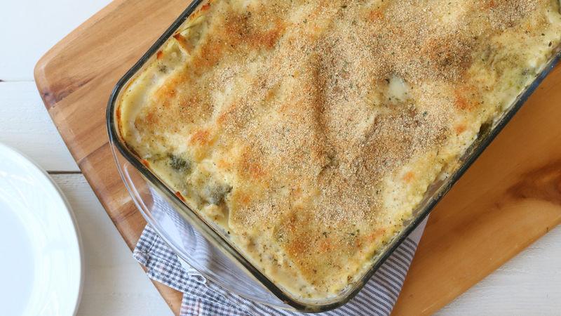Garlic Chicken Parmesan Lasagna