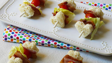 Sandwich Skewers for Kids