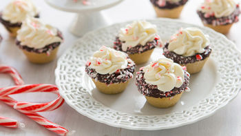 Boozy Candy Cane White Chocolate Mousse