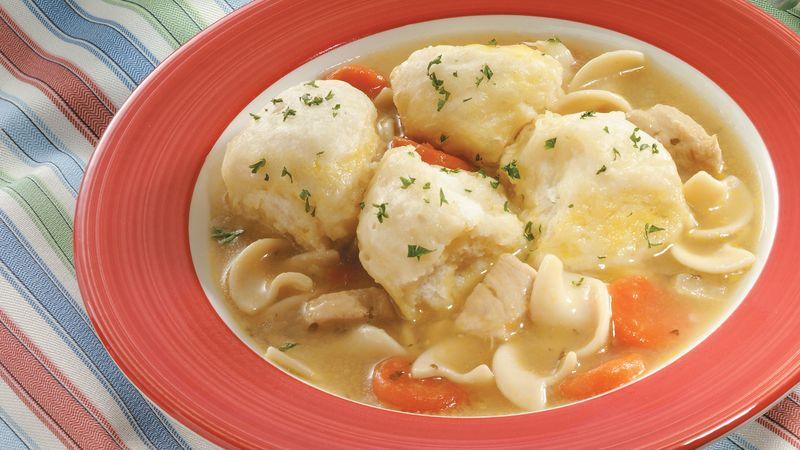 Chicken Soup and Grands!® Dumplings