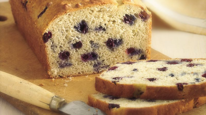Blueberry-Banana-Oat Bread