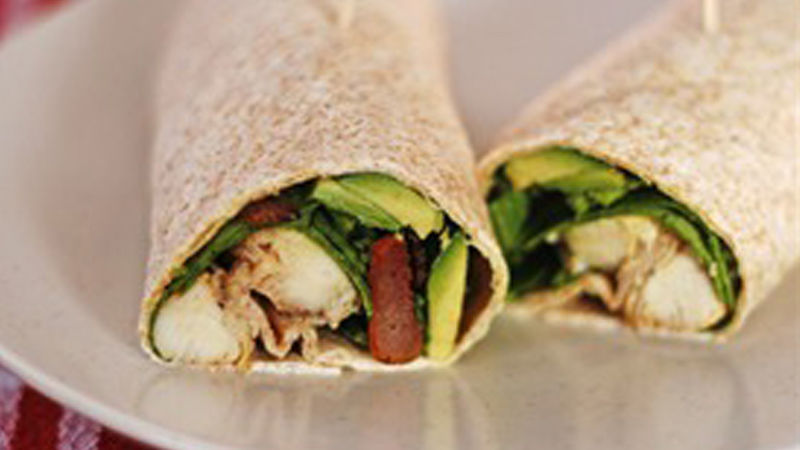 Spicy Chicken Wrap