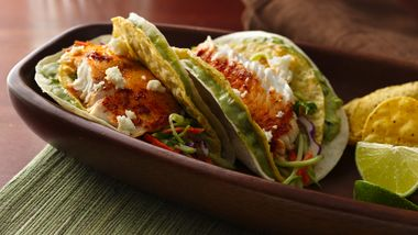 Soft and Crunchy Fish Tacos