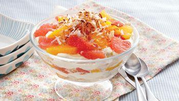 Orange-Angel Food Trifle