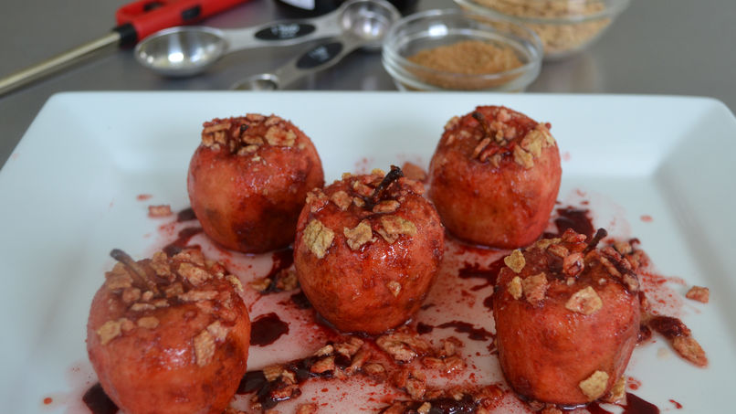 Candied Apples with Cinnamon and Grand Marnier