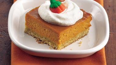 Honey-Pumpkin Dessert Squares
