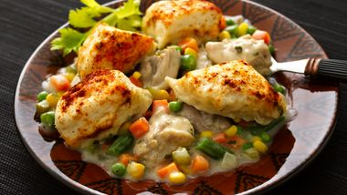 Chicken and Dumplings with Vegetables