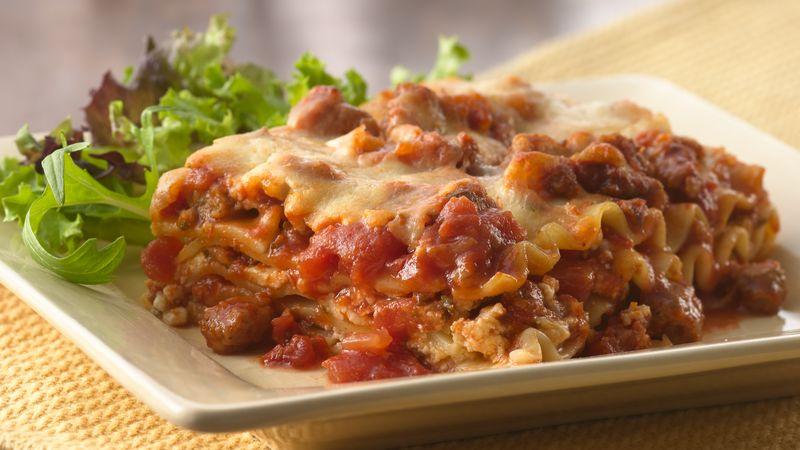Italian Sausage Lasagna
