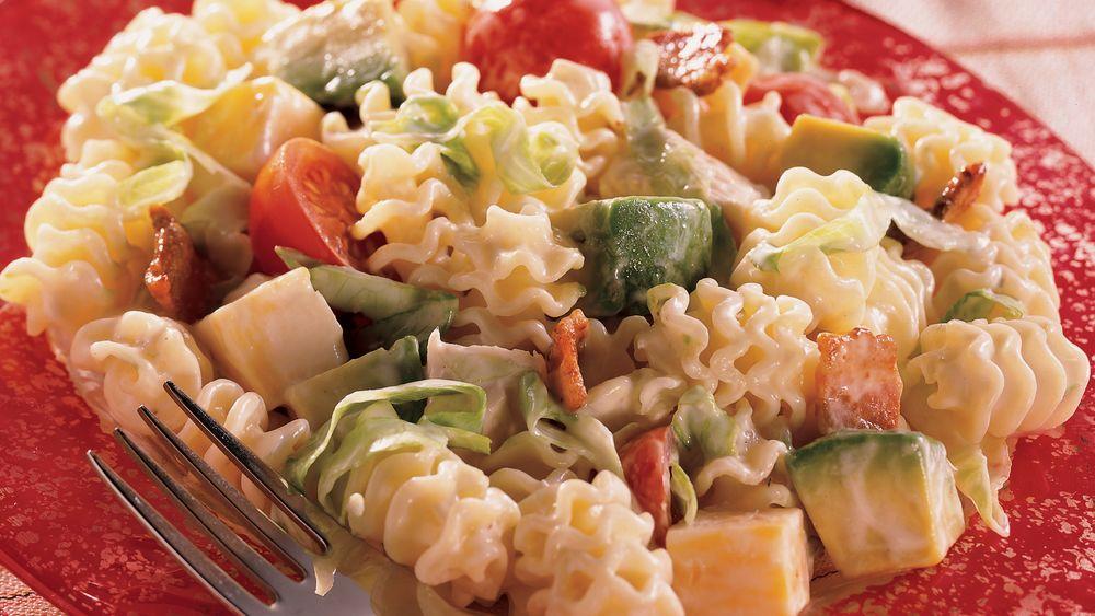 California Club Turkey and Pasta Salad