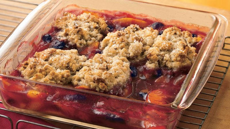 Blueberry-Peach Cobbler