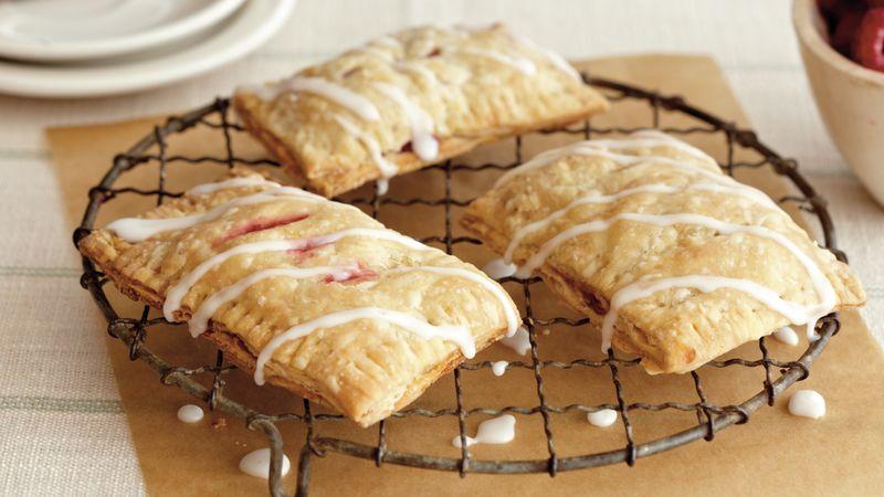 Raspberry-Lemon Breakfast Tarts