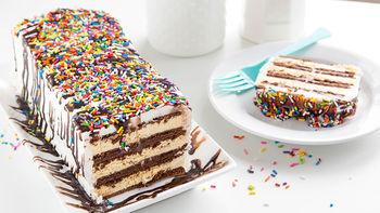 Hot Fudge Icebox Cake