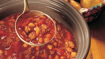 Slow-Cooked Chili