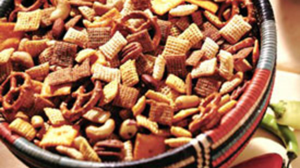 how to make chex party mix