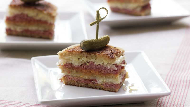 Triple-Decker Mini Reubens