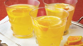Citrusy Champagne Punch