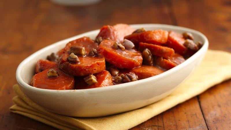 Sweet Potatoes with Caramel Sauce