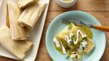 Rajas and Cheese Tamales