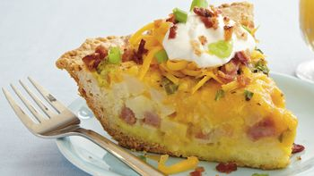 Loaded Potato Quiche