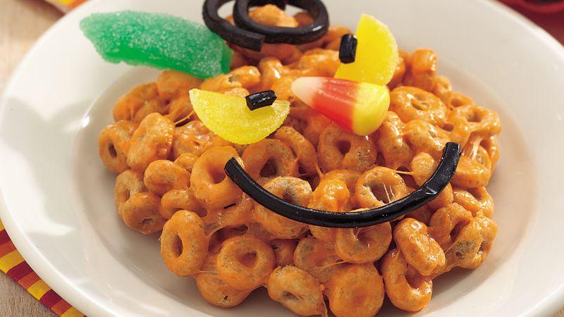 Cereal Jack-o'-Lanterns
