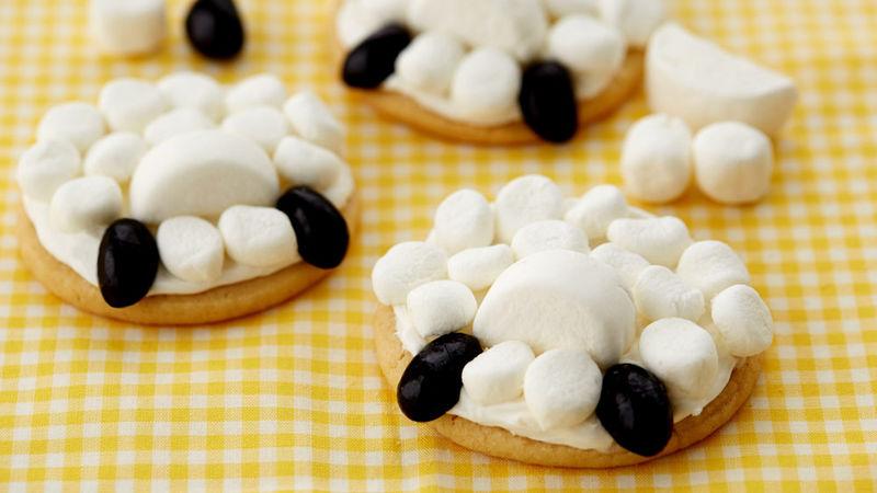 Lamb Butt Cookies