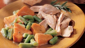 Slow-Cooker Turkey and Sweet Potatoes