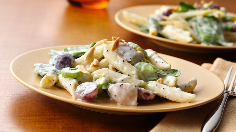 Chicken Pasta Salad with Creamy Lemon Dressing